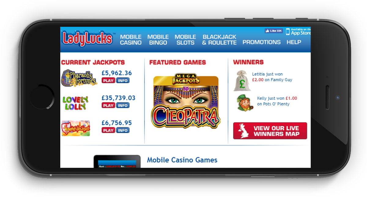 LadyLucks Casino Review