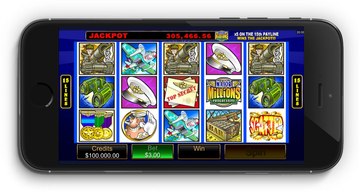 Major Millions Slots - Review and Free Online Game