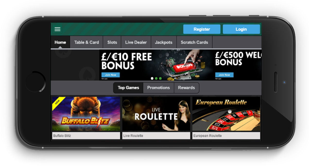 casino mobile playtech gaming log out