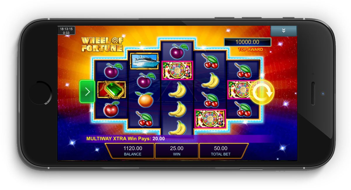 wheel of fortune triple action frenzy slot review