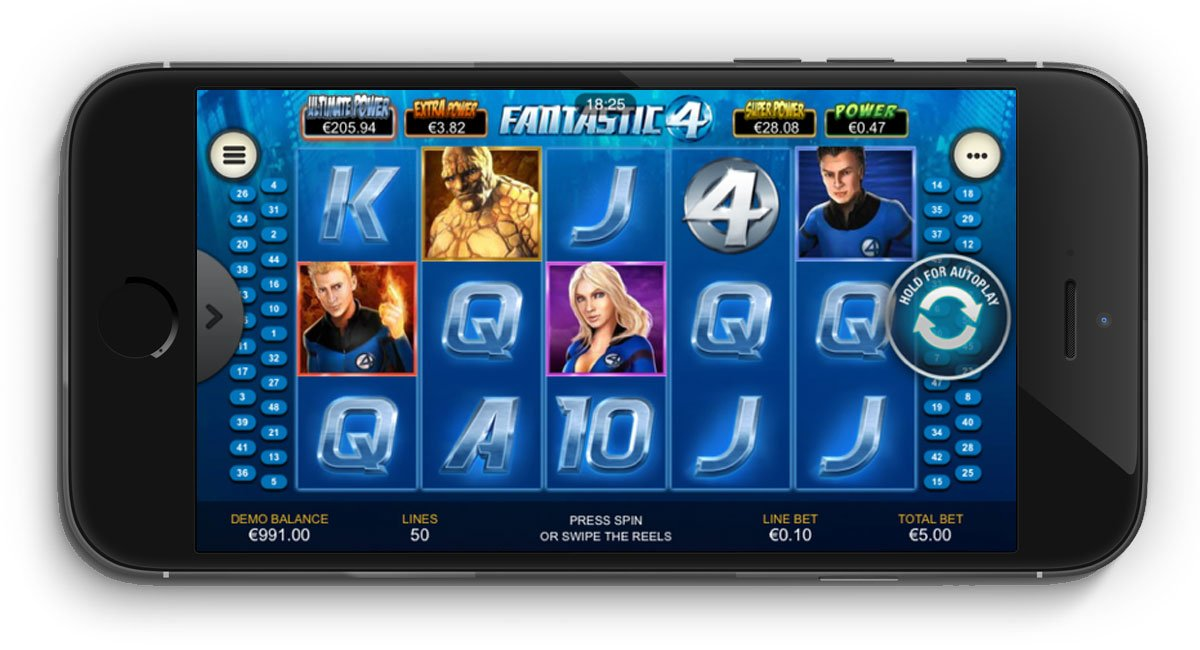 Fantastic Four Slot Review