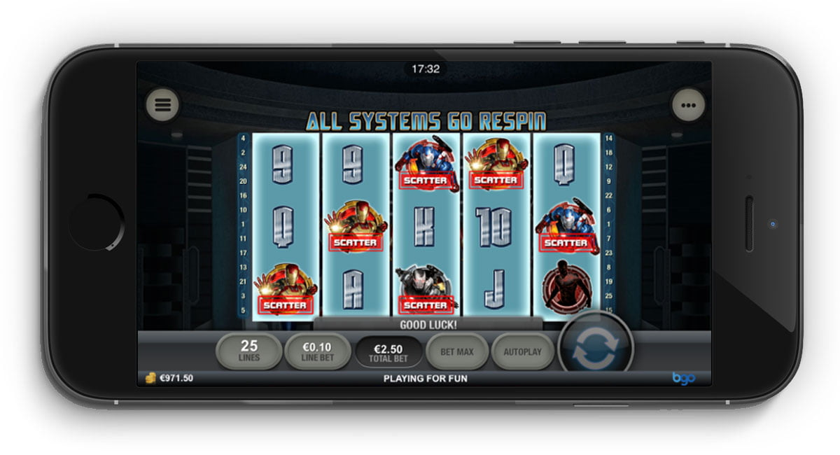 Iron Man 3 Slot Review