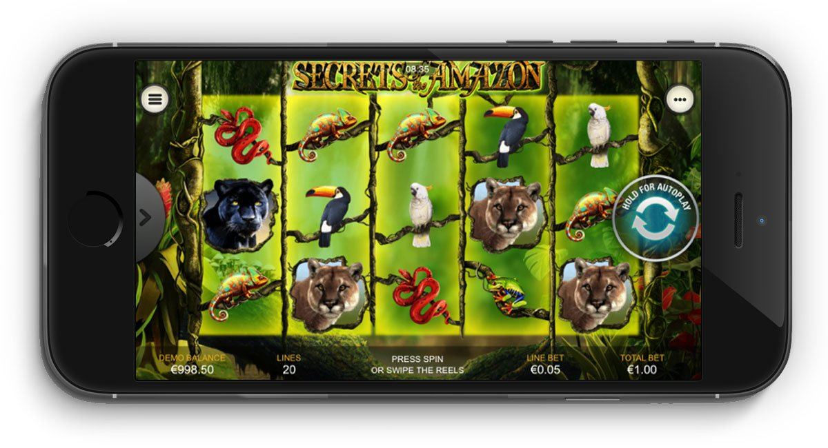 Secrets Of The Amazon Slot Review