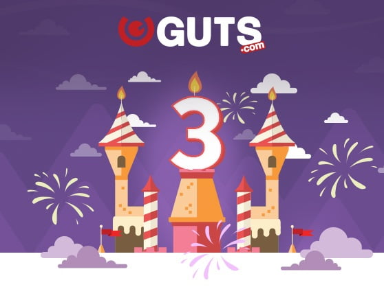 celebrate guts casinos 3rd birthday