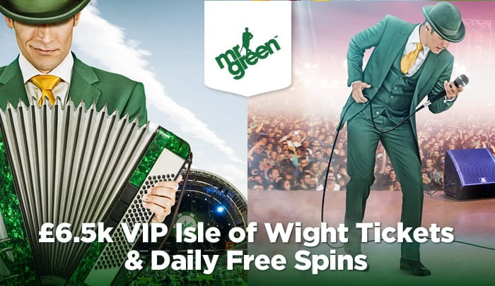 mr green isle wight package