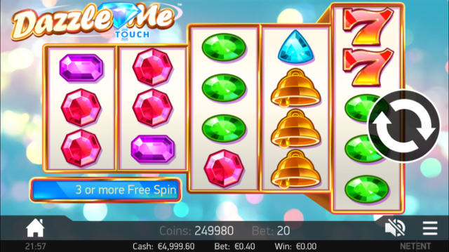 Dazzle Me Slot Machine Review & Free Instant Play Game