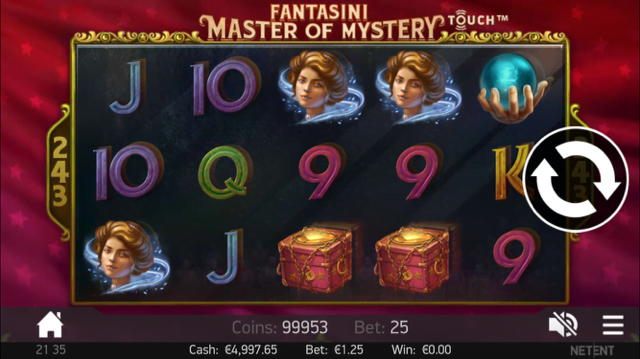 Fantasini Master of Mystery Slot Review