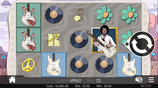 Jimi Hendrix Slot Review