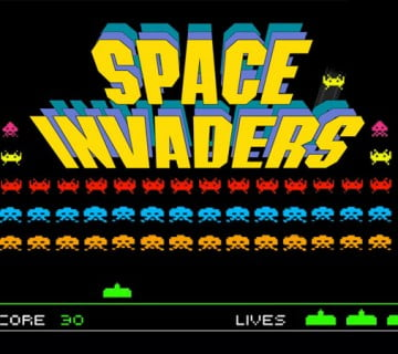 space invaders slot