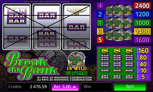 Break Da Bank Slot Review