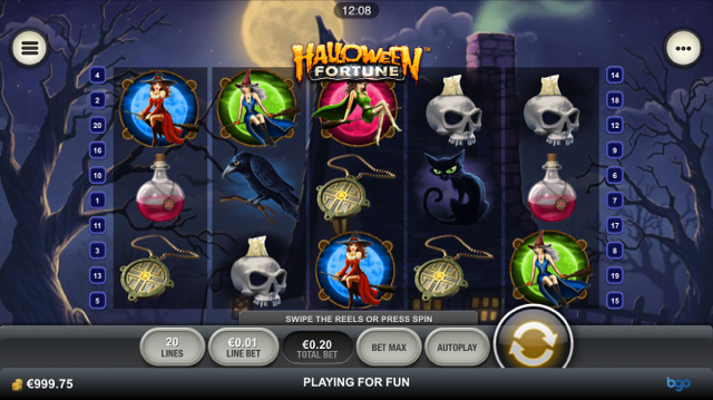 Halloween Fortune Slot Review
