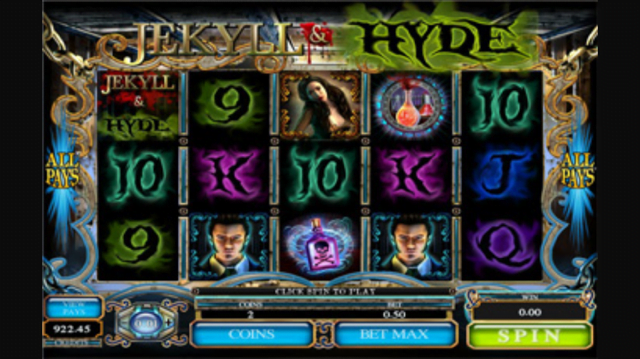 Jekyll and Hyde Mobile Slot Machine