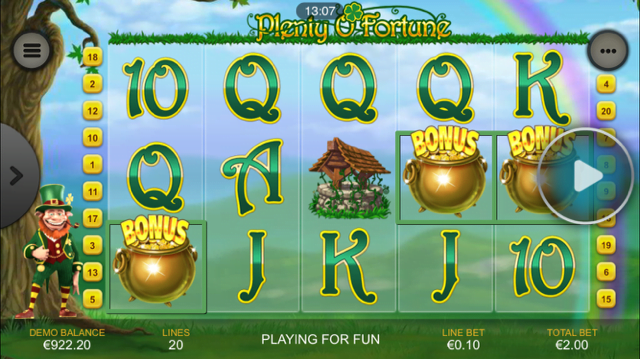 Plenty O Fortune Slot Review