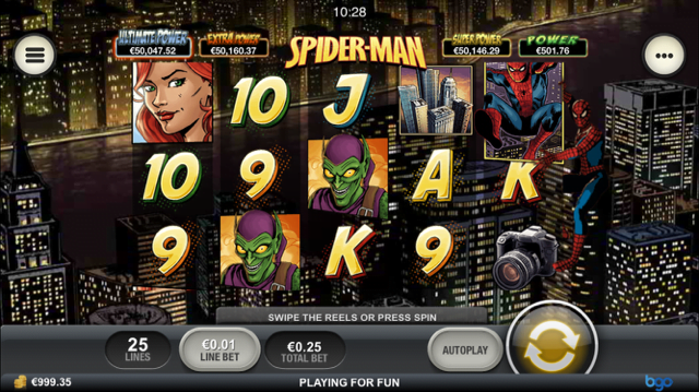 Spider-Man Slot Review