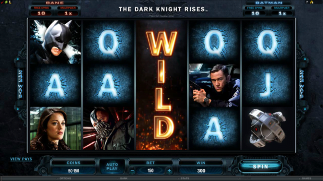 The Dark Knight Rises Slot Review