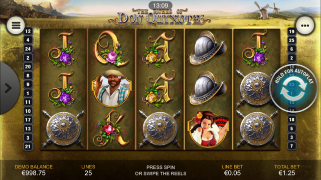 The Riches of Don Quixote Slot Review
