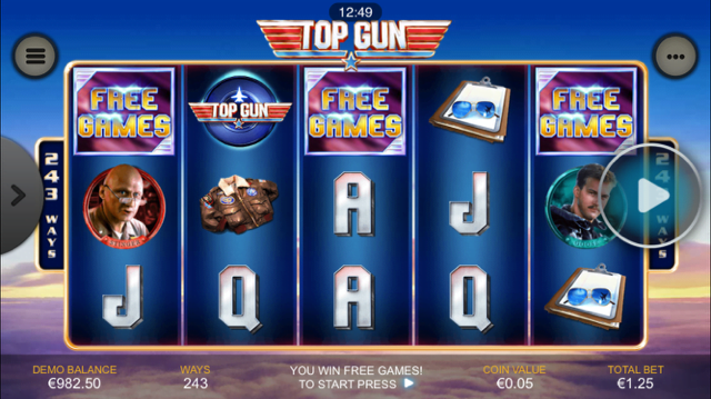 Top Gun Slot Review