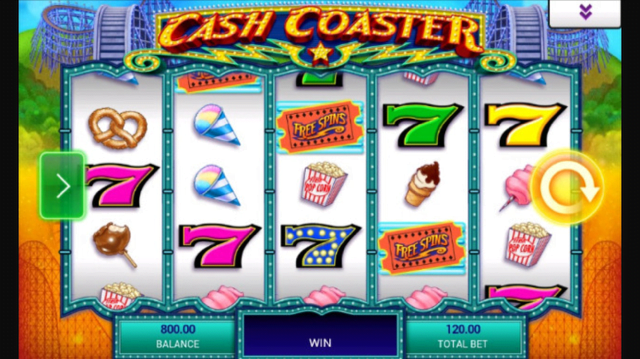 cash coaster slot review