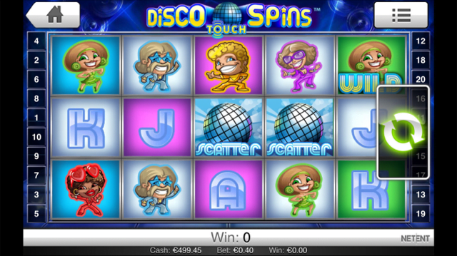 disco spins slot review