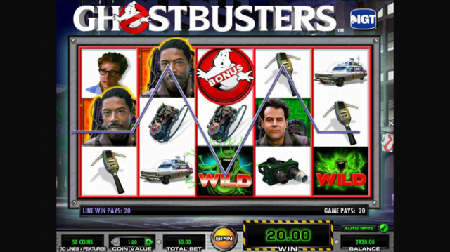 ghostbusters slot review