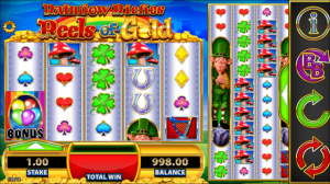 rainbow riches reels of gold slot review