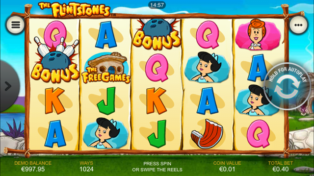 flintstones slot machine