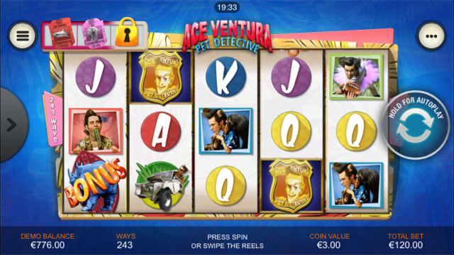 ace ventura pet detective slot review