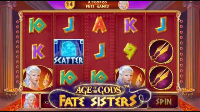 age of the gods fate sisters slot review
