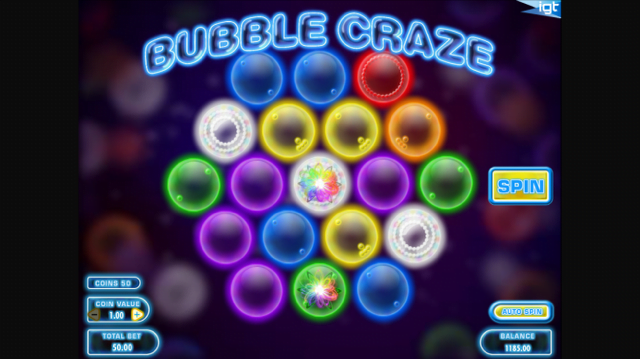 Bubble Craze Slot Review & Free Online Casino Game by IGT