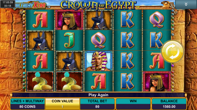 crown of egypt slot review