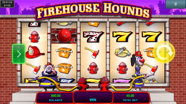firehouse hounds slot review