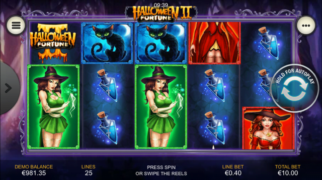 halloween fortune ii slot review