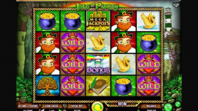 Isle O' Plenty slot review