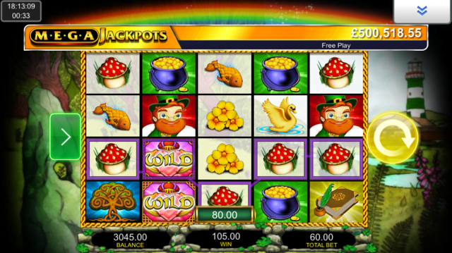 Isle O' Plenty Mega Jackpots slot review