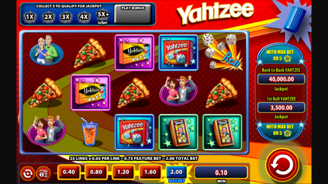 yahtzee slot review