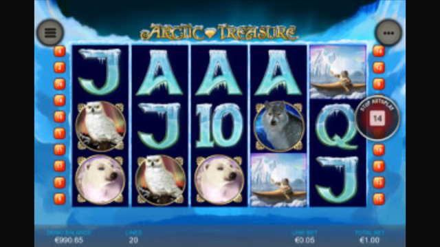 arctic treasure slot review