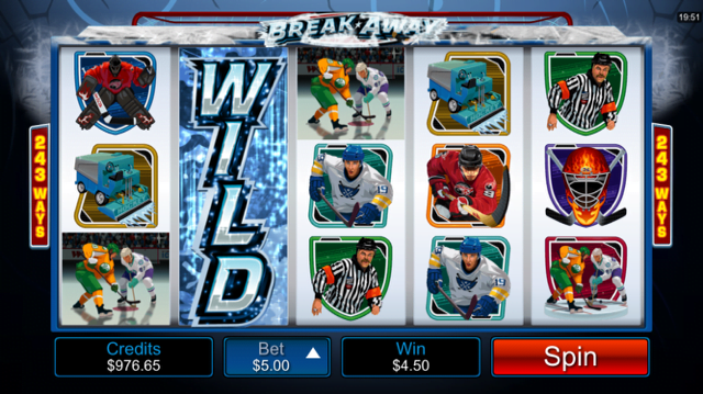 Break Away Slot Review – Play This Hockey-Themed Game Online