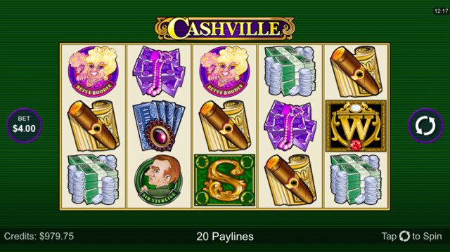 cashville slot review