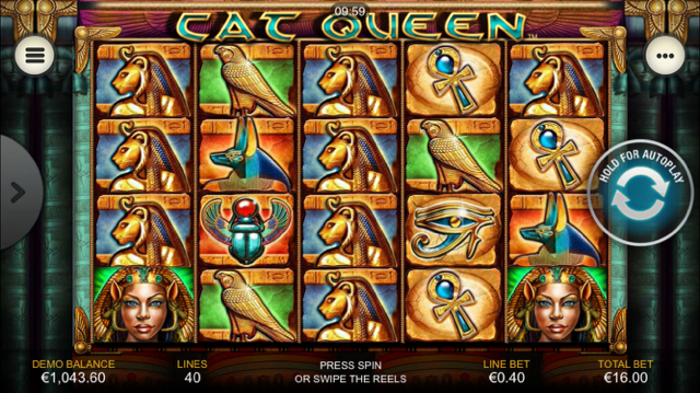 cat queen slot review