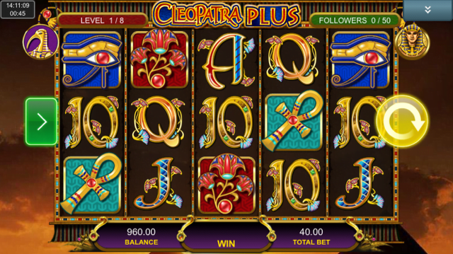 cleopatra plus slot review