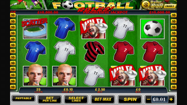 football rules slot review