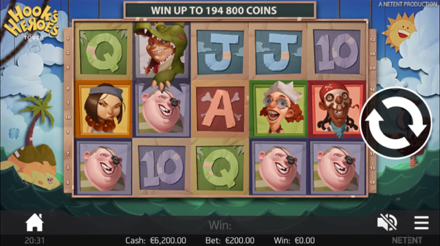 hooks heroes slot review