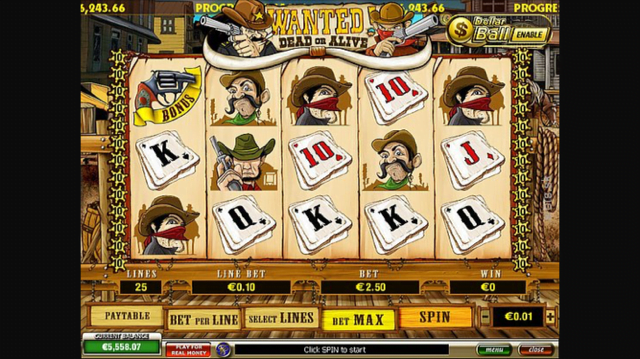 Wanted Dead Or Alive Slot Review