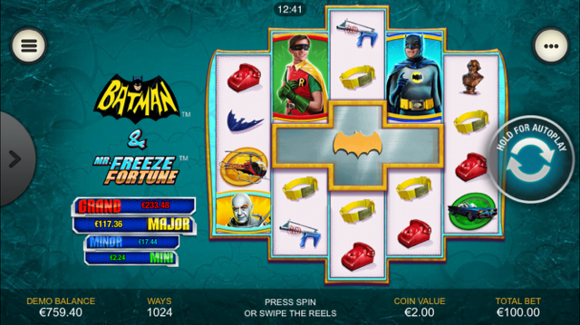 Batman & Mr Freeze Fortune Slot Review