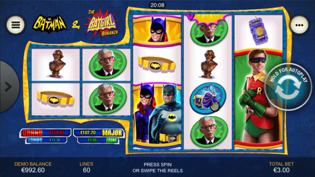 Batman & The Batgirl Bonanza Slot Review