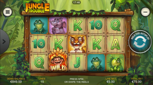 Jungle Trouble Slot Review