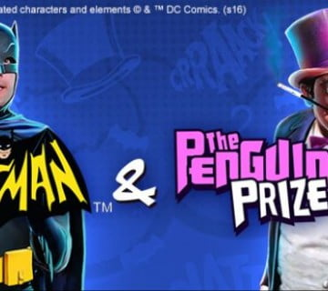 batman & the penguin prize arrives