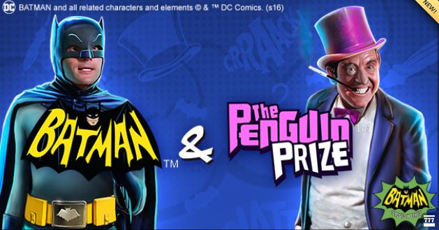 Batman and The Penguin Prize Casino Slot by Playtech