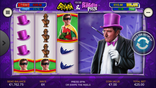 Batman & The Penguin Prize Slot Review