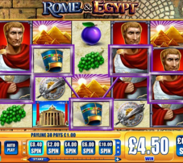 Rome & Egypt Slot Review
